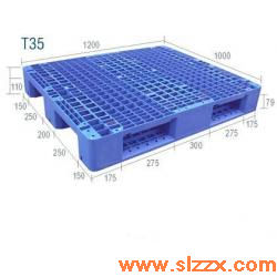 T35川字型内置钢管塑料托盘