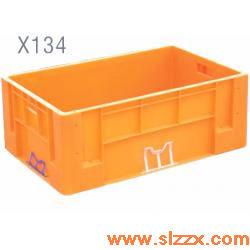 X134加强型塑料周转箱